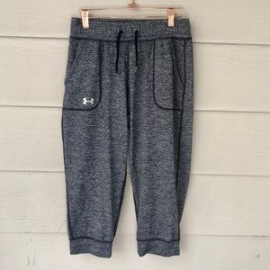 EUC Under Armour Grey Cropped Sweatpants**